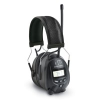 Walkers Hearing Protection Over Ear AM/FM Radio Earmuffs with Display | GWP-RDOM