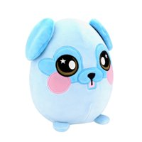 "Squeezamals, 8"" Plush, Pug - Super-Squishy Foam Stuffed Animal! Squishy, Squeezable, Cute, Soft, Adorable!"
