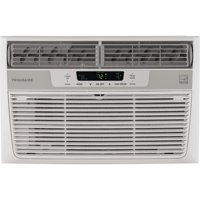Frigidaire 8,000 BTU 115V Window-Mounted Mini-Compact Air Conditioner with Temperature-Sensing Remote Control in White