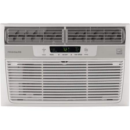 Frigidaire 8,000 BTU 115V Window-Mounted Mini-Compact Air Conditioner with Temperature-Sensing Remote Control in