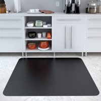 Deflecto EconoMat 36 x 48 Chair Mat for Hard Floor, Rectangular, Black
