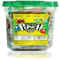 Sour Punch, Assorted Flavor Twists Chewy Candy, 2.8 Lb