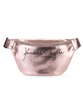 Kendall + Kylie for Walmart Pink Metallic Fanny Pack