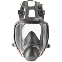 3M, MMM6800, 6800 Full Fpiece Reusable Respirator, 1 / Each, Black,Gray