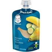 Gerber Toddler Food, Banana Pear Zucchini, 3.5 oz. Pouch