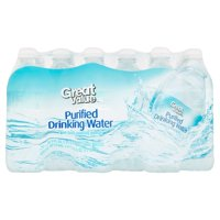 Great Value Purified Drinking Water, 16.9 Fl. Oz., 24 Count