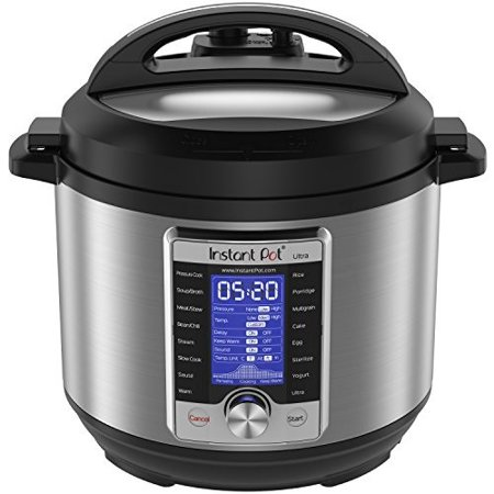 Instant Pot Ultra 6 Qt 10-in-1 Multi- Use Programmable Pressure Cooker, Slow Cooker, Rice Cooker, Yogurt Maker, Cake Maker, Egg Cooker, Sauté, Steamer, Warmer, and (Best 10 Qt Pressure Cooker)