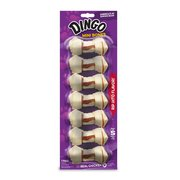 Dingo Rawhide Mini Bones for Small Dogs, 7-Count, 2.3-Ounce