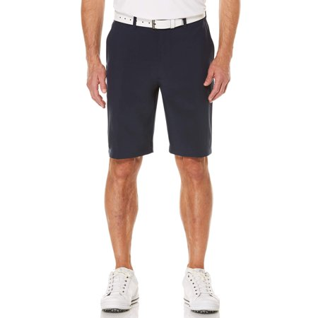 - Men's Performance Flat Front Active Flex Waistband Four Way Stretch Shorts