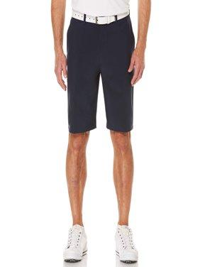 Men's Performance Flat Front Active Flex Waistband Four Way Stretch Shorts