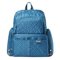 SoHo Collections, Diaper Bag Backpack with Stroller Straps, 5 Piece Complete Set, Manhattan (Cambridge Teal)
