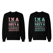 ef498cde1 Freak and Weirdo Matching BFF Sweatshirts Cute Sweater for Best Friends