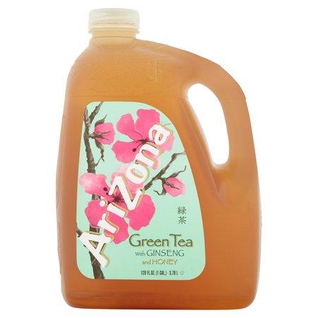 5 Gallon Iced Tea - Arizona Green Tea with Ginseng & Honey Tea, 1 Gallon