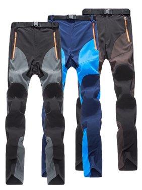 Mens Waterproof Outdoor Hiking Skiing Climbing Pants Winter Combat Trousers