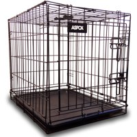 ASPCA Travel Pet Dog Wired Kennel, Medium