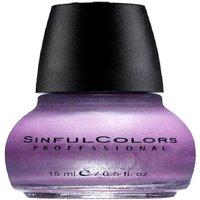 Sinful Colors Professional Nail Polish Enamel, Purple Diamond 0.50 oz (Pack of 3)