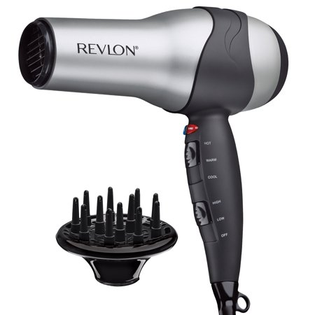 Revlon Hair Dryer 1875W Turbo Styler 3 Heat/2 Speed