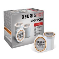 Keurig Rinse Pods, Reduce Flavor Carry-Over, Brews in both Classic 1.0 and Plus 2.0 Series K-Cup Pod Coffee Makers
