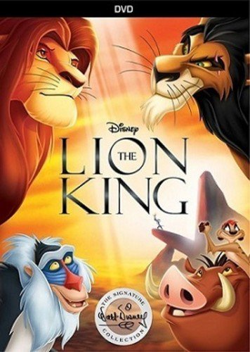 The Lion King Signature Collection (DVD) - Disney Halloween Movie List