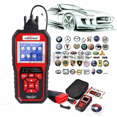 KW850 OBD2 OBD Car Diagnostic Scanner Automotive Erase Engine Fault Codes