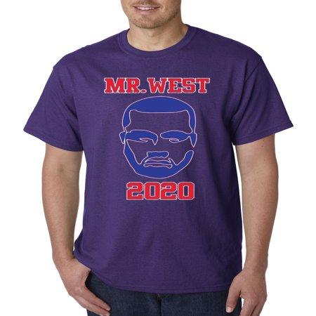 326 - Unisex T-Shirt Mr West Kanye 2020 Presidential Candidate Election (Look Like Kanye West Halloween)
