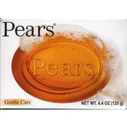 Pears Soap Gentle Care Transparent 4.4 oz (Pack of 3)