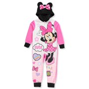 3416c50082b4 minnie mouse onesie sleeper pajama(big girl   little girl)