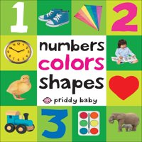 Numbers Colors Shapes (Board Book)