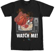 2256149bb7330f Looney Tunes Taz Watch Me Basketball Mens Graphic T Shirt