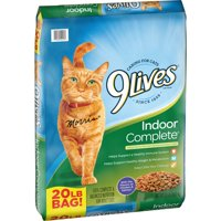 9Lives Indoor Complete Dry Cat Food (Various Sizes)