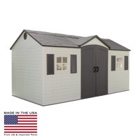 Lifetime 15 x 8 ft. Outdoor Garden Shed, 6446