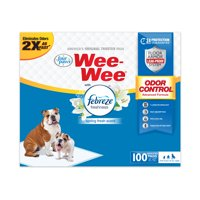 Four Paws Wee-Wee Odor Control Pads with Febreze Freshness 22 in x 23 in