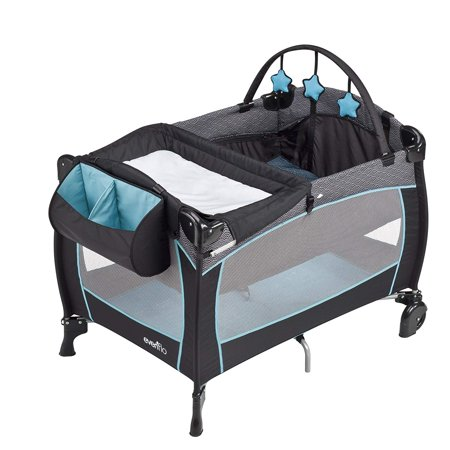 Evenflo Portable Babysuite Deluxe Playard, Koi (Placard Set)