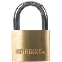 Brink's 40mm Solid Brass Padlock