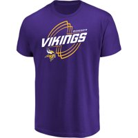 Men's Majestic Purple Minnesota Vikings Pigskin Classic T-Shirt