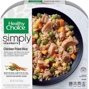 Healthy Choice Simply Steamers Frozen Dinner, Chicken Fried Rice, 10 Ounce
