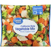 Great Value California Style Vegetable Mix, 12 oz
