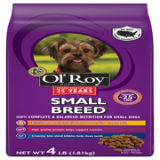 Ol' Roy Small Breed Dry Dog Food, 4 lb