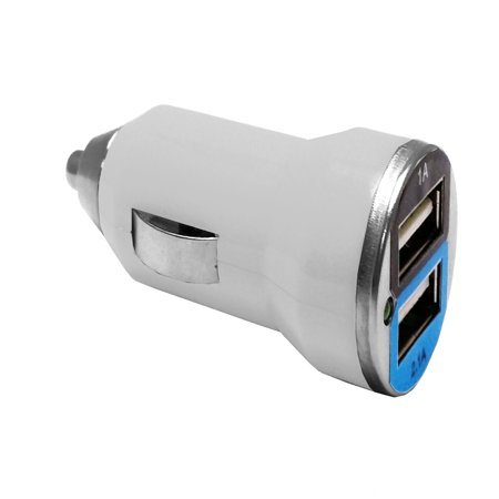 Blackberry Curve 8900 Javelin (EpicDealz Dual USB Car Charger 3.1Amp 15.5W - 1.0&2.1A Smart Power Supply For Blackberry Curve 8900 Javelin - Compact)