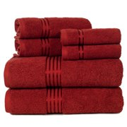 Lavish Home 100% Egyptian Cotton Hotel 6-Piece Towel Set