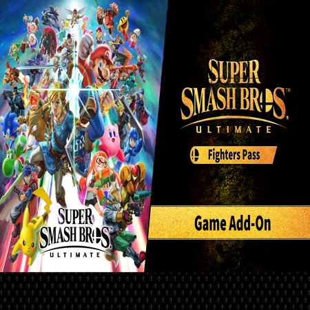Super Smash Bros. Ultimate + Fighters Pass DLC Bundle, Nintendo, Nintendo Switch (Digital