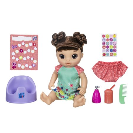 Baby Alive Potty Dance Baby Talking Baby Doll With Brown Hair
