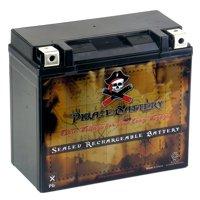 YTX20L-BS Power Sports Battery Replaces 20L-BS ETX20L CYTX20L-BS GTX20L-BS
