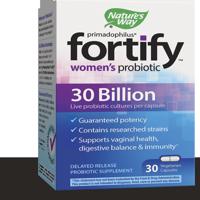 Nature's Way Fortify Women's Probiotic, 30 Billion Live Cultures, 30 Count