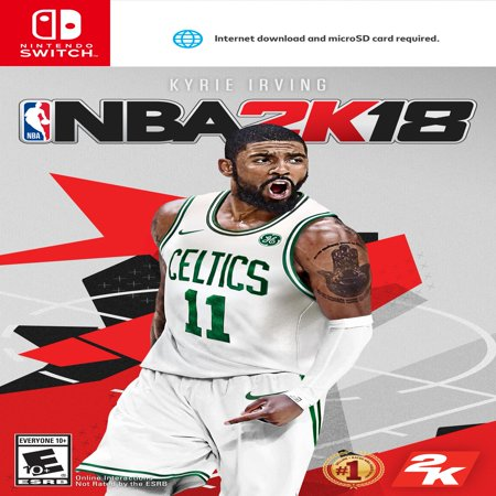 - Take-Two NBA 2K18 Early-Tip Off Edition - Sports Game - Nintendo Switch