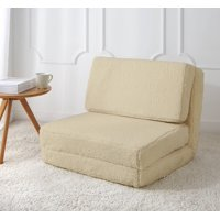 Mainstays Sherpa Flip Chair, Available in Multiple Colors