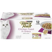 Fancy Feast Grilled Chicken Feast in Gravy Gourmet Adult Wet Cat Food - (12) 3 oz. Cans