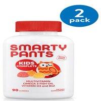 SmartyPants Kids Complete Multivitamin Gummies, 90 Ct