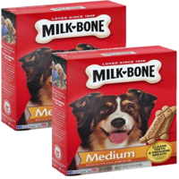(2 Pack) Milk-Bone Original Dog Biscuits - for Medium-sized Dogs, 24-Ounce