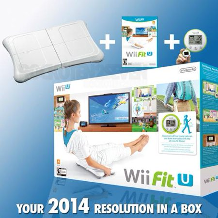 Nintendo Wii Fit U Bundle (Wii Fit Best Exercises To Lose Weight)